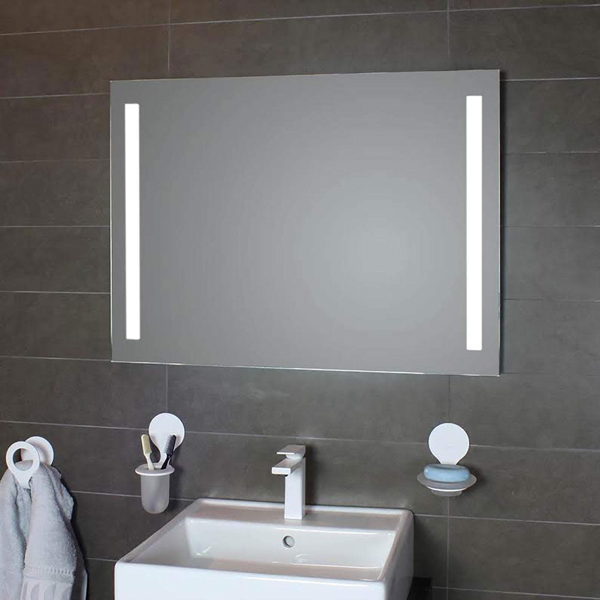 Ws Bath Collections Simply Led Lighted Bathroom Wall Mirror Simply L00200 L00300 L00600 Modo Bath