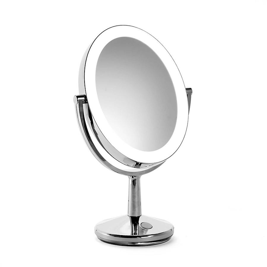 LED Oval Rechargeable Vanity Makeup Mirror
