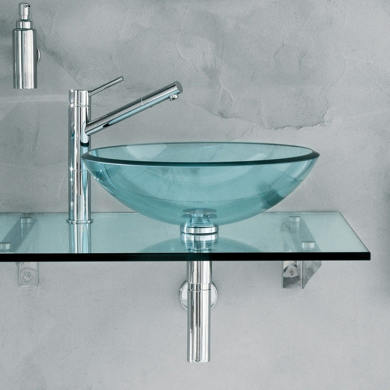 Decorative Bathroom Fixtures Create a Beautiful Base - Glass Vessel Sinks