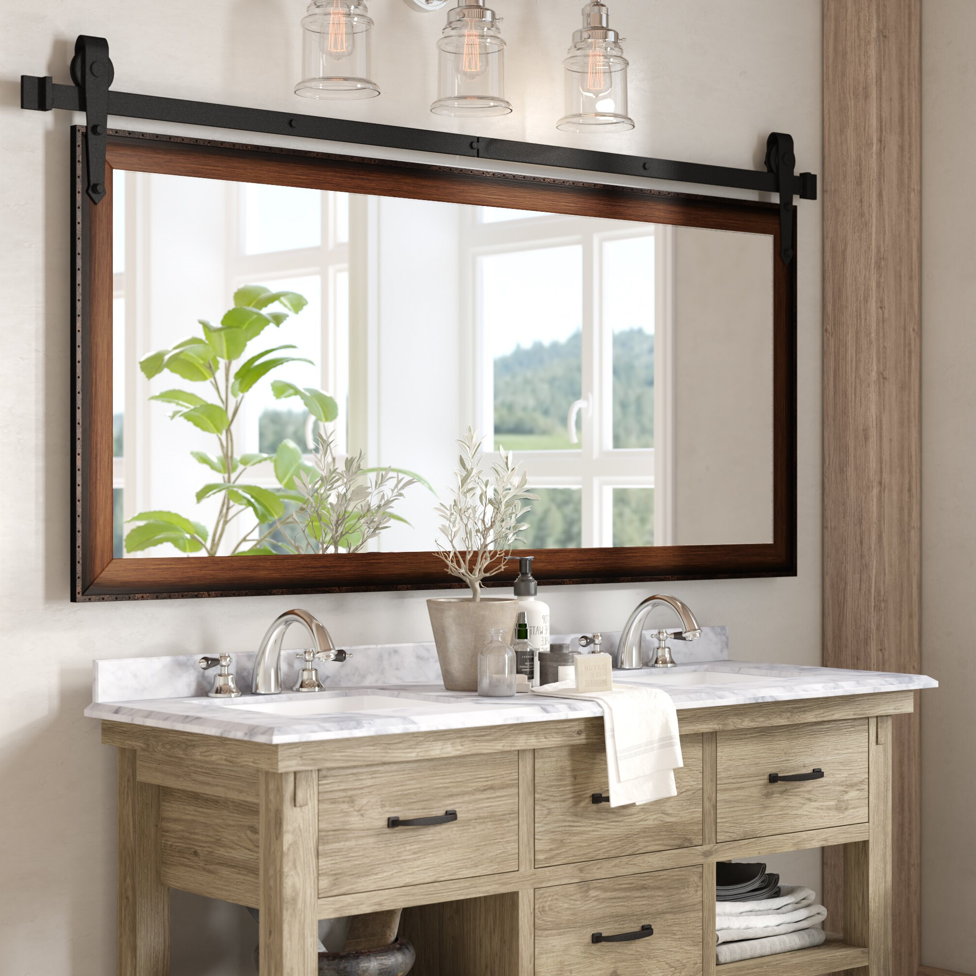 Abraham Bathroom/Vanity Mirror