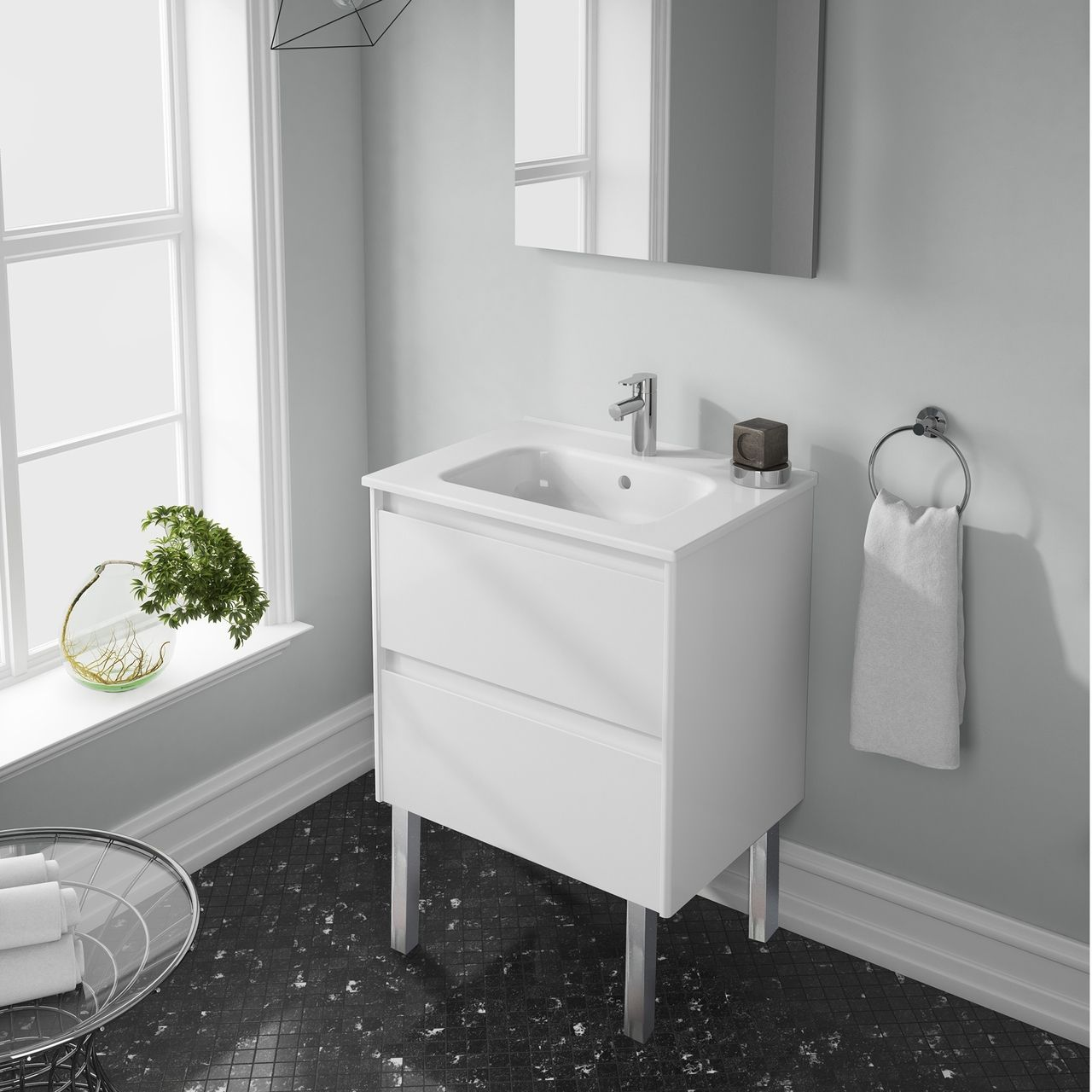 Stylistic Storage Solutions - Bathroom Vanity