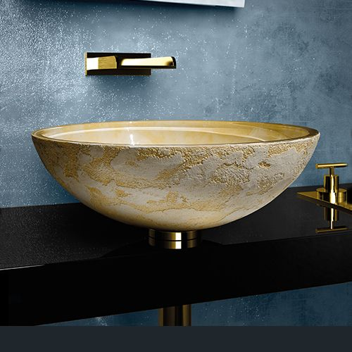 Importance of Texture - Luna Vessel Sink