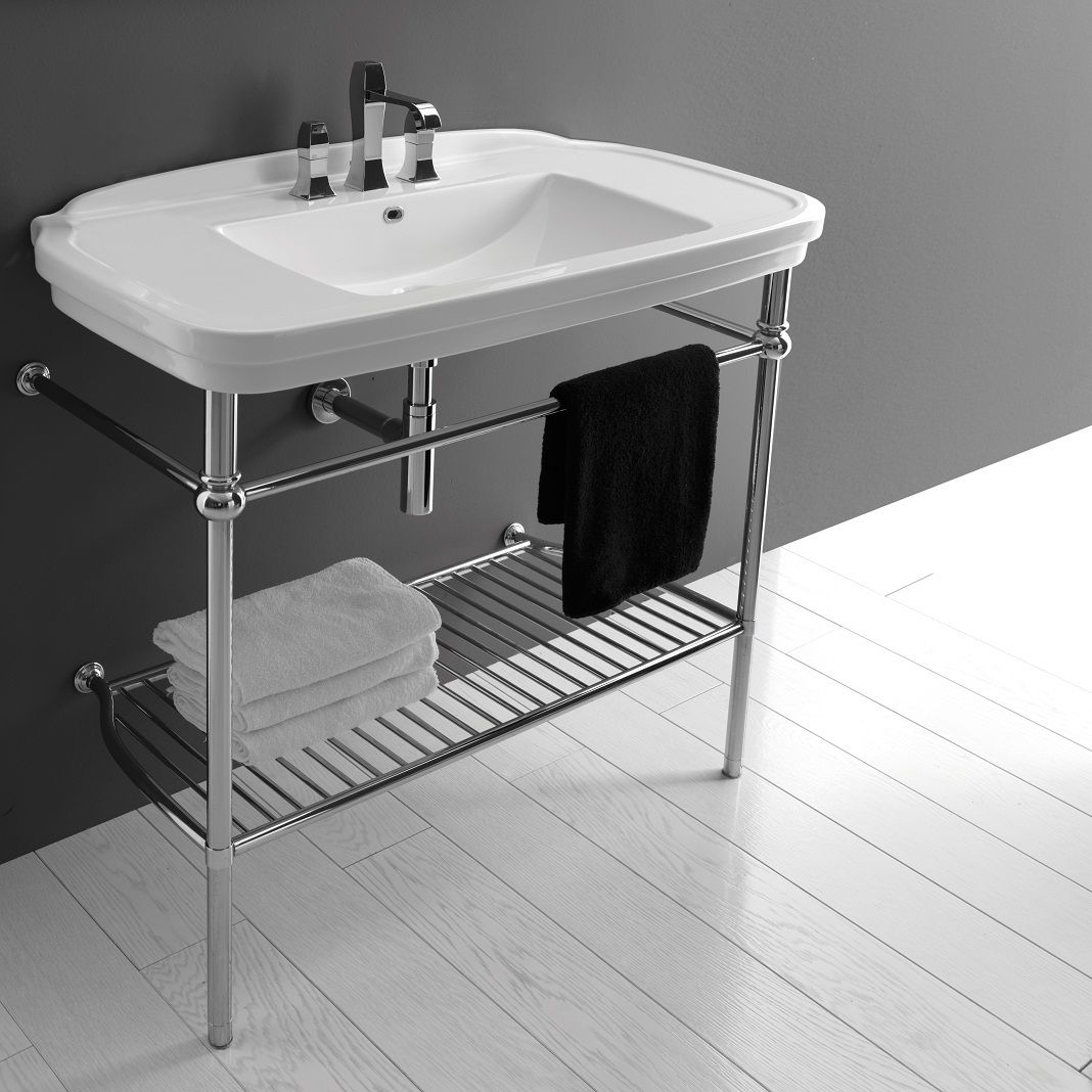 Stylistic Storage Solutions- Bathroom Sink