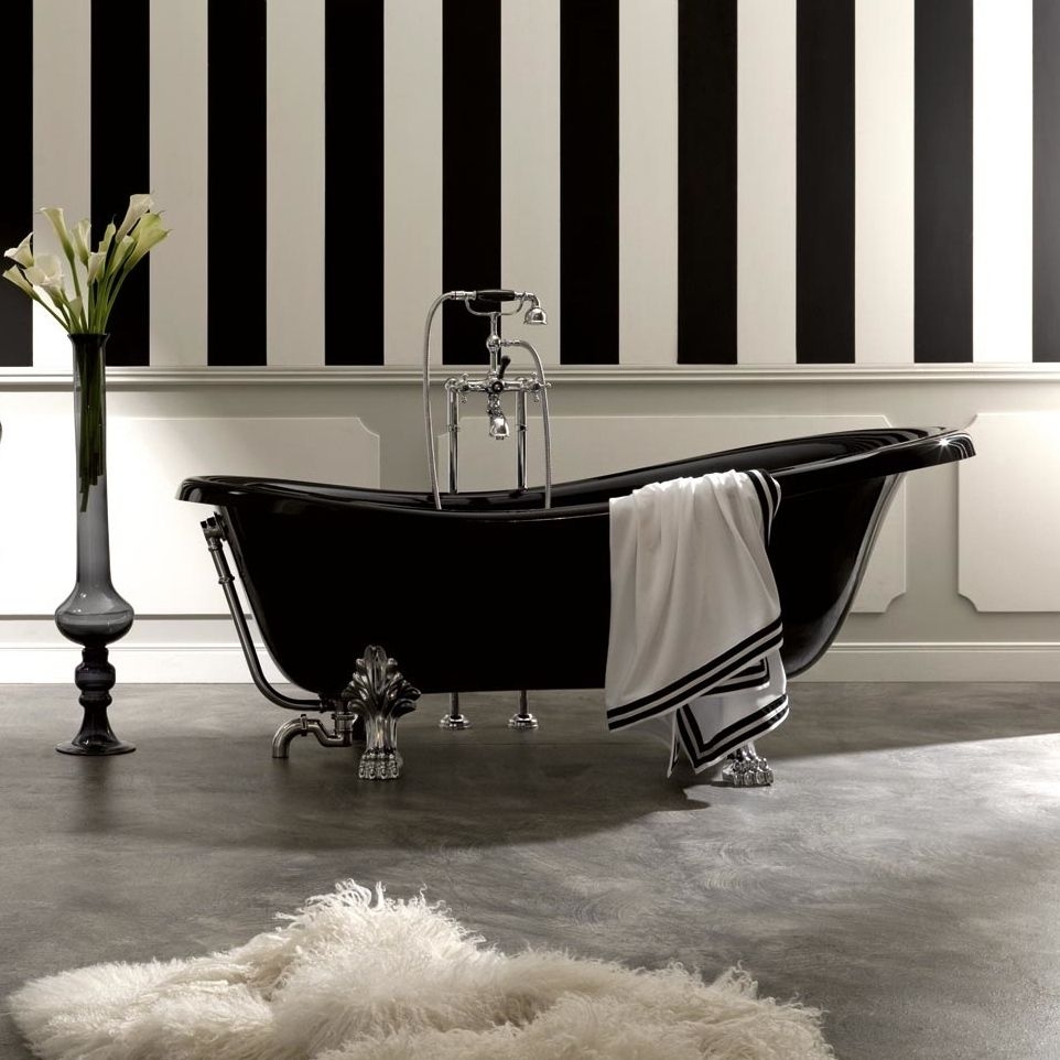 Art is Versatile Bathroom Decor - Bathtub