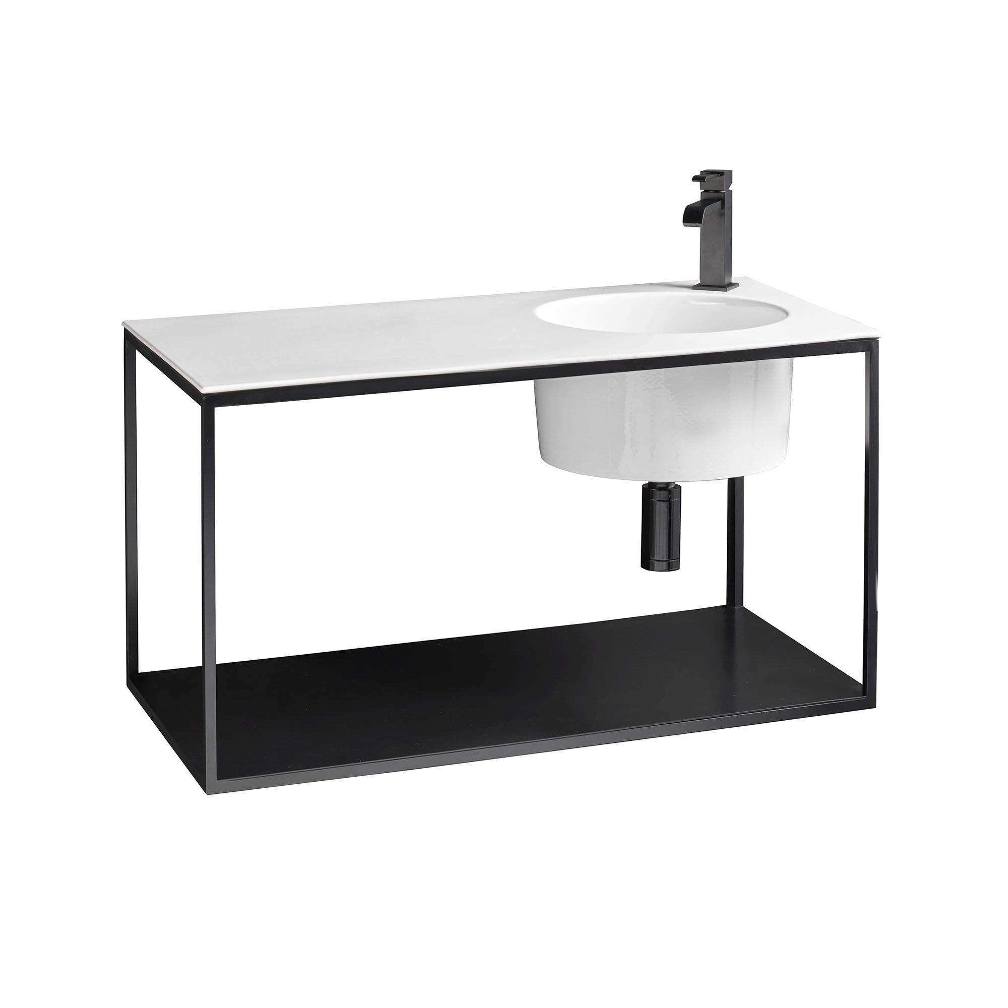 Skyland 32137.01+CP488009 Wall Mounted Bathroom Vanity