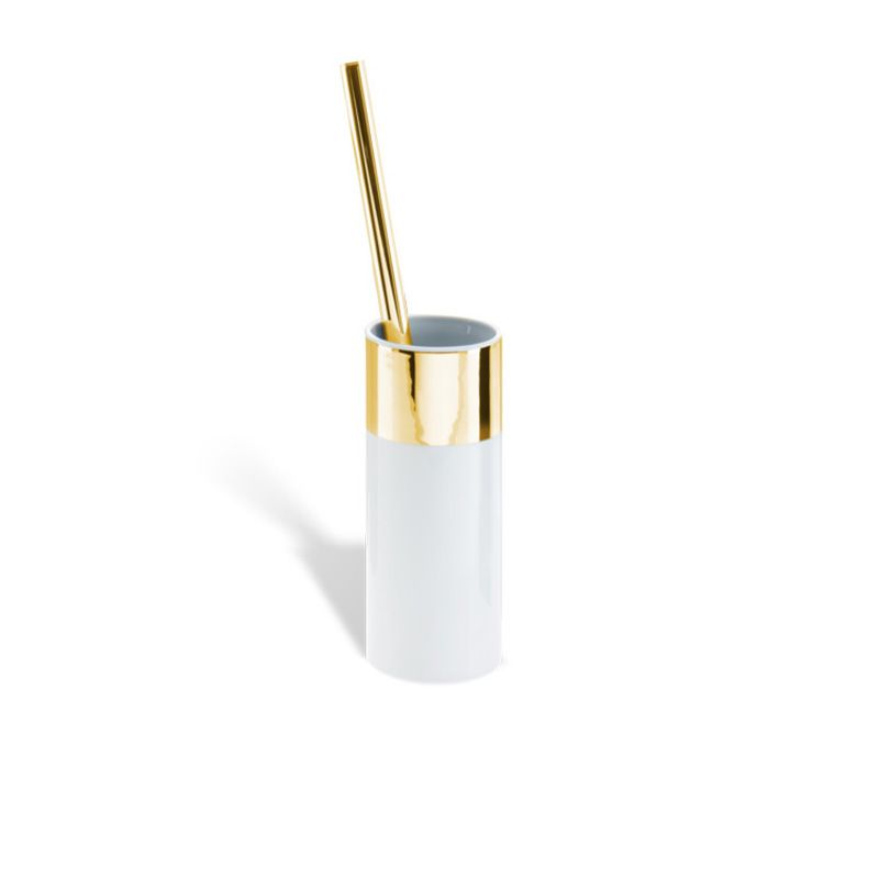 Gold Bathroom Accessories - Brush Holder