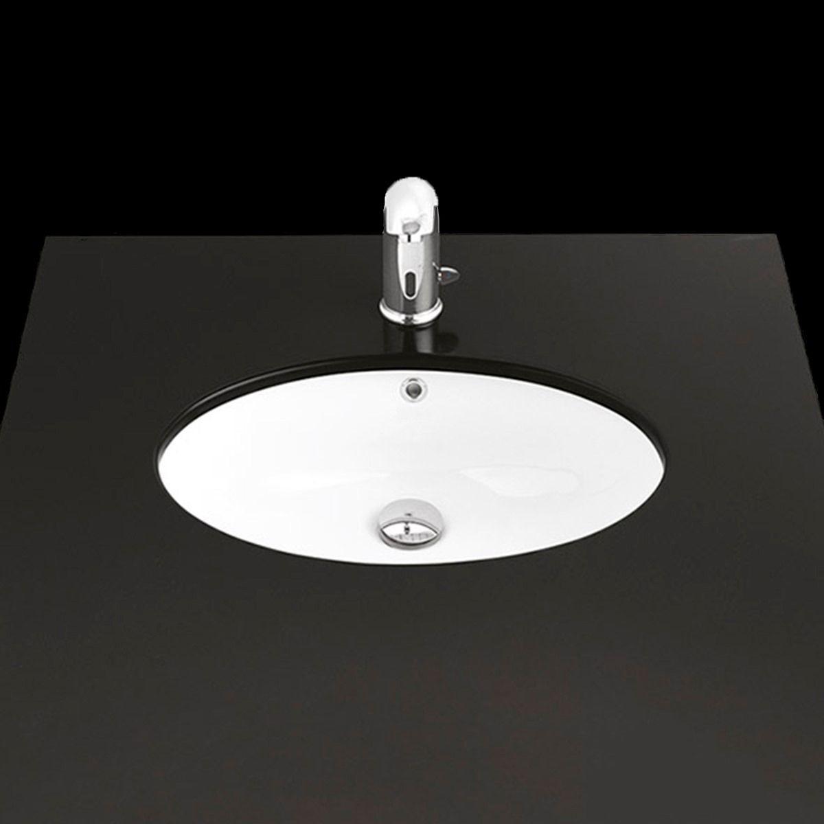 Ws Bath Collections Under Tp 216 Ceramic Oval Undermount Bathroom Sink 22 2 Modo Bath
